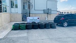 Karaman'da Damlama Borularını Çalan Hırsızlar Yakalandı