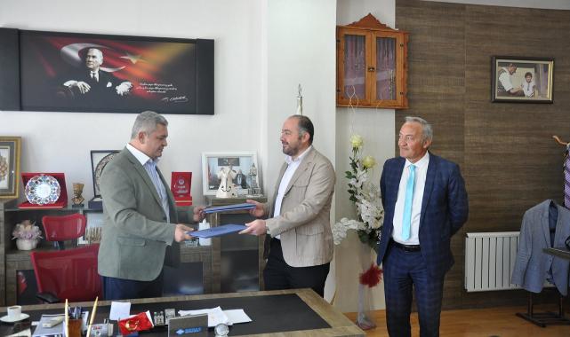Ermenek Belediyesi İle Ermenek MYO Arasında Protokol İmzalandı