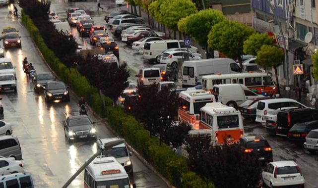 Karaman'da Araç Sayısındaki Artış Sürüyor