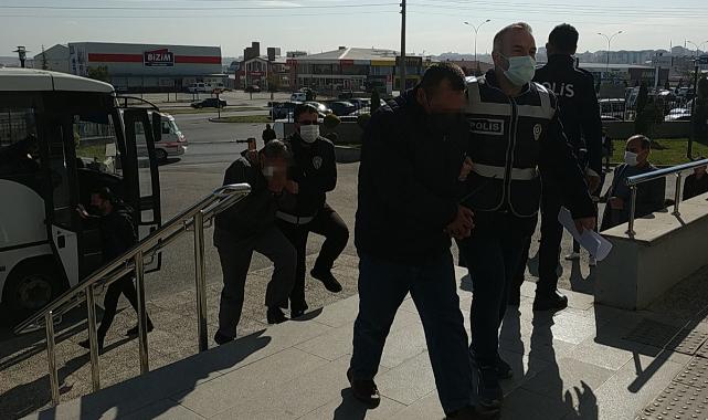 Karaman'da Fuhuş Operasyonu: 9 Şüpheli Adliyeye Sevk Edildi