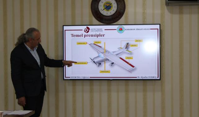 Karaman Ziraat Odasında Drone Pilot Eğitimleri Başladı