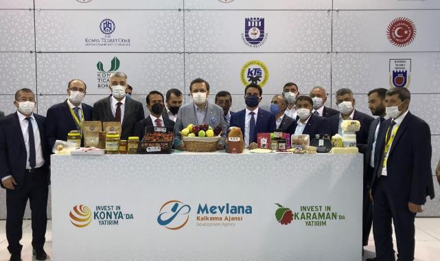 Konya Ve Karaman Yöresel Ürünlerinin Tanıtımına Mevka'dan Büyük Destek